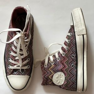 Missoni Chuck Taylor® All Star® High Top Sneaker
